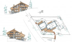 Renovate or build a 450m2 Central Meribel Chalet – 34187TCF73