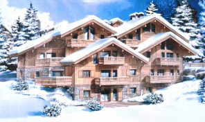 Superb new 4-bedroom apartment (123.24m2) with balconies, 300m from piste 59424TCF73b